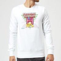 Product Of The 90's Floppy Disc Sweatshirt - White - XXL - White