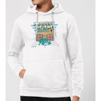 Product Of The 90's Boom Box Hoodie - White - M - White