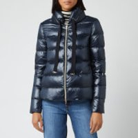 Herno Women's Padded Down Jacket - Blue - IT 40/UK 8