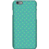 Green Sprinkles Pattern Phone Case for iPhone and Android - Samsung S8 - Tough Case - Gloss
