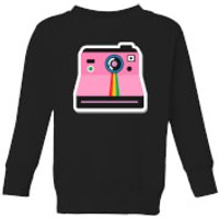 Polaroid Kids' Sweatshirt - Black - 11-12 Years - Black