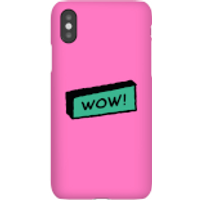Wow! Phone Case for iPhone and Android - iPhone 7 - Snap Case - Matte