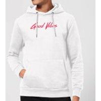 Good Vibes Hoodie - White - S - White