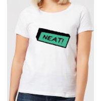 Neat! Women's T-Shirt - White - XXL - White
