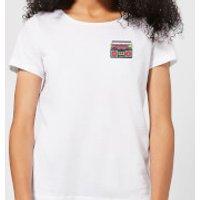 Small Boombox Women's T-Shirt - White - S - White