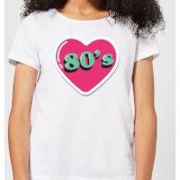 80s Love Women's T-Shirt - White - 4XL - White
