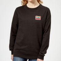 Small Cassette Tape Women's Sweatshirt - Black - M - Black