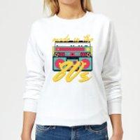 Made In The 80s Boombox Women's Sweatshirt - White - S - White