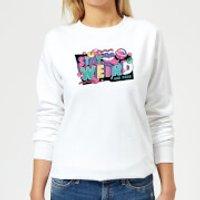 Stay Weird Women's Sweatshirt - White - XS - White