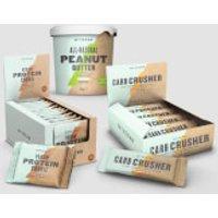 Snacking Bundle - Vegan Carb Crusher - Nut Free Peanut Butter - Organic Nut Butter - Crunchy - Vegan