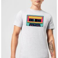 Cassette Tape Men's T-Shirt - Grey - XXL - Grey