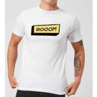 Booom Men's T-Shirt - White - XXL - White
