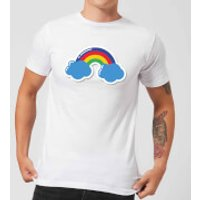 Rainbow Men's T-Shirt - White - XXL - White - Rainbow Gifts