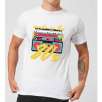 Made In The 80s Boombox Men's T-Shirt - White - 3XL - White