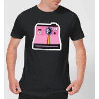 Polaroid Men's T-Shirt - Black - XL - Black