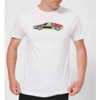Classic Sports Car Men's T-Shirt - White - M - White
