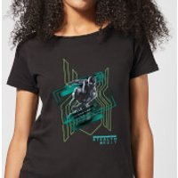 Spider-Man Far From Home Stealth Suit Womens T-Shirt - Black - XL - Black