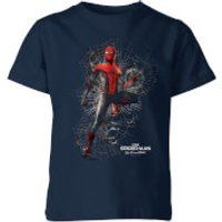 Spider-Man Far From Home Upgraded Suit Kids T-Shirt - Navy - 3-4 Years - Navy