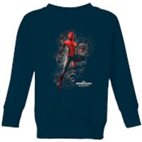 Spider-Man Far From Home Upgraded Suit Kids Sweatshirt - Navy - 5-6 Years - Navy
