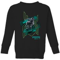 Spider-Man Far From Home Stealth Suit Kids Sweatshirt - Black - 5-6 Years - Black