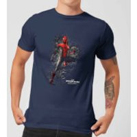 Spider-Man Far From Home Upgraded Suit Mens T-Shirt - Navy - M - Navy
