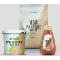Pancake Bundle - Organic Maple Syrup - Organic Nut Butter - Smooth - Vegan Pancake Mix - Chocolate