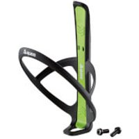 Guee Qing+ Bottle Cage/Tyre Lever Set - Black/Green