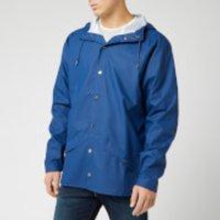 RAINS Jacket - True Blue - XS-S