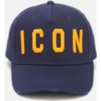 Dsquared2 Men's Icon Cap - Navy Ocra