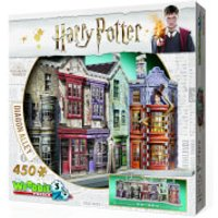 Harry Potter Diagon Alley 3D Puzzle (450 Pieces) - Harry Potter Gifts