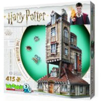 Harry Potter The Burrow The Weasley's Family Home 3D Puzzle (415 Pieces) - Harry Potter Gifts