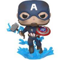 Marvel Avengers: Endgame Captain America with Broken Shield Pop! Vinyl Figure