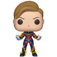 Marvel Avengers: Endgame Captain Marvel Pop! Vinyl Figure - Marvel Gifts