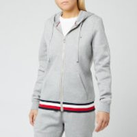 Tommy Hilfiger Women's Heritage Zipthrough Hoodie - Light Grey Heather - L