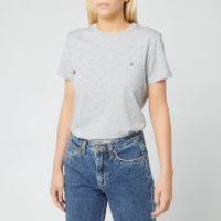 Tommy Hilfiger Women's Heritage Crew Neck T-Shirt - Light Grey Heather - S