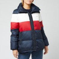 Tommy Hilfiger Womens Naomi Recycled Down Jacket - Rwb