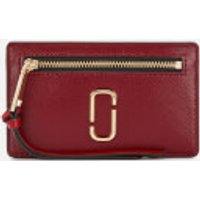 Marc Jacobs Cardholder - Cranberry/multi