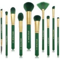 Spectrum Collections 10 Piece Malachite Brush Set