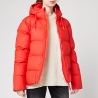 RAINS Women's Puffer Jacket - Red - S/M