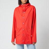 RAINS Womens Jacket - Red - XS/S