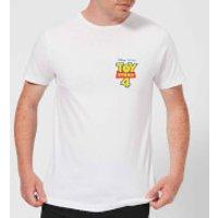 Toy Story 4 Pocket Logo Mens T-Shirt - White - M - White