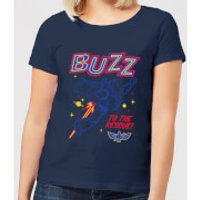 Toy Story 4 Buzz To The Rescue Women's T-Shirt - Navy - L - Navy