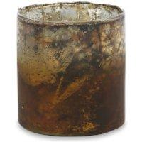 Nkuku Morri Tealight Holder - Small - Terracotta