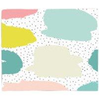 Spotty Blobs Fleece Blanket - Spotty Gifts