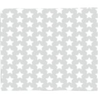 Grey Stars Fleece Blanket - Blanket Gifts