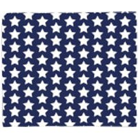 Navy Blue Stars Fleece Blanket - Blanket Gifts