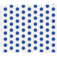 Blue Spots Fleece Blanket - Blanket Gifts