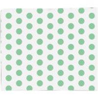 Green Spots Fleece Blanket - Blanket Gifts