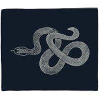 Snake Fleece Blanket - Blanket Gifts