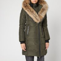 Mackage Women's Kay Long Classic Down Coat - Army - S